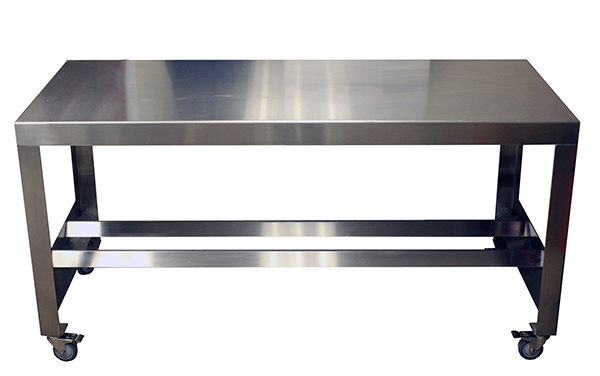 Hygienic Stainless-Steel Tables Assembly