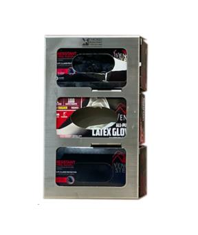 Stainless Steel Glove Dispenser Holders