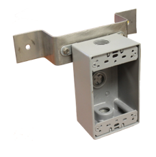 Electrical Box Standoff Bracket