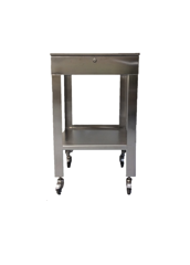 Stainless Steel Mobile Workstation