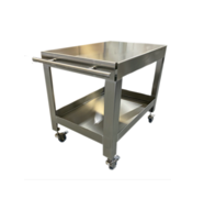 Stainless Steel 2 Shelf Pushcart