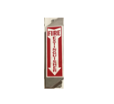 Standard Fire Extinguisher Sign with Standoff