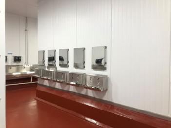 Hygiene & Sanitation Control Areas