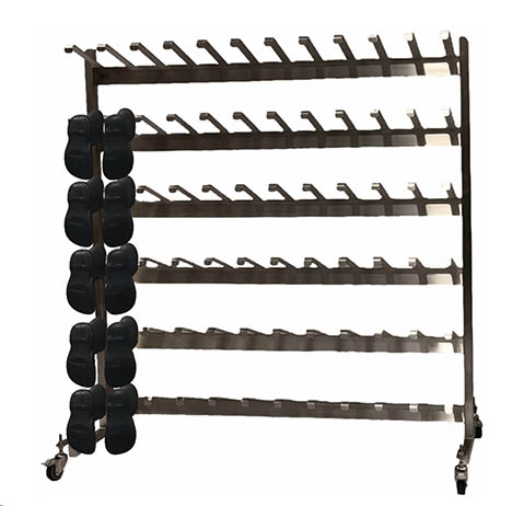Stainless Steel Shoe/Boot Rack